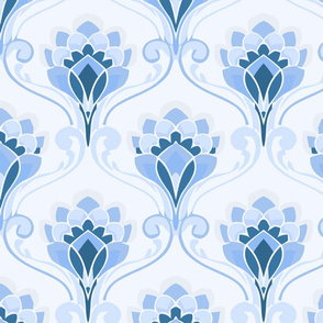 crown flower ice