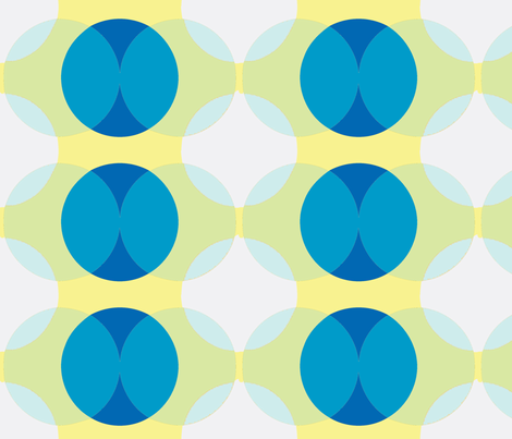 dots blue fabric by myracle on Spoonflower - custom fabric