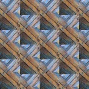 Diagonal door