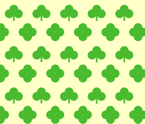 Clover_All_Over fabric by weaver_phoenyx_aka_birdy on Spoonflower - custom fabric