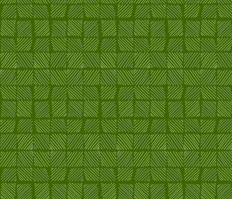 cream_and_green_diagonal_lines fabric by designcrafty on Spoonflower - custom fabric