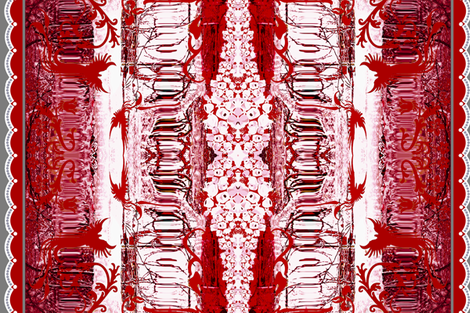 Red Ice fabric by paragonstudios on Spoonflower - custom fabric