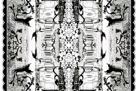 Black Ice fabric by paragonstudios on Spoonflower - custom fabric