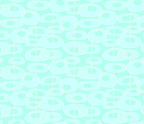ORB_ Duck Egg blue. fabric by designcrafty on Spoonflower - custom fabric