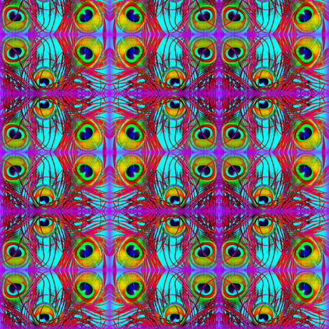 Eyezia fabric by treasunique on Spoonflower - custom fabric