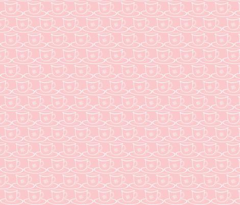 teacup fabric by littlebeardog on Spoonflower - custom fabric