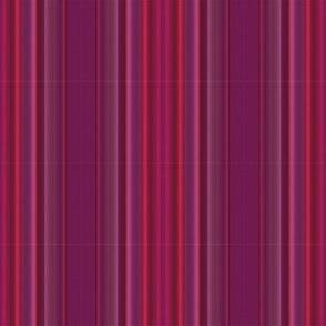 Magenta Dots on Stripes