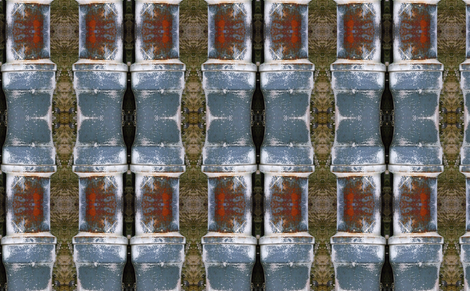 Grunge Punker's Kilt Mashup 2 fabric by susaninparis on Spoonflower - custom fabric