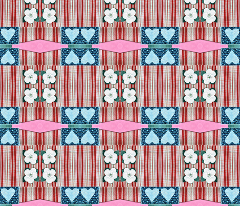magnolialove fabric by mimi&me on Spoonflower - custom fabric