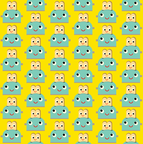 toaster fabric by heidikenney on Spoonflower - custom fabric