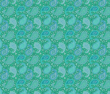 ©2011 paisley sean 7 fabric by glimmericks on Spoonflower - custom fabric