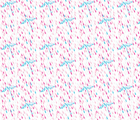 "PARASOL in ""SKY"" fabric by trcreative on Spoonflower - custom fabric"