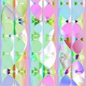 Peek-a-boo Circles 16x16
