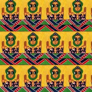 Ethiopian Talisman fabric