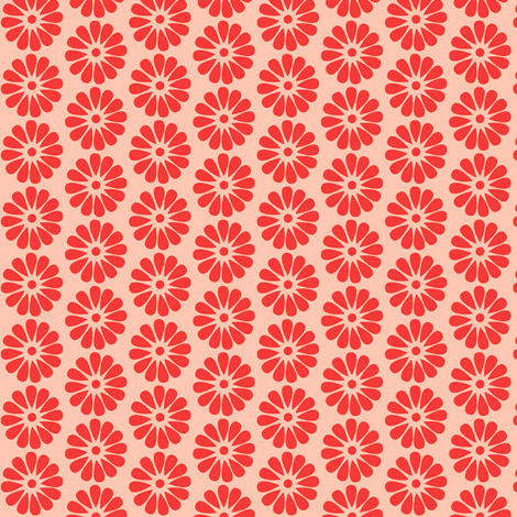 The Pink Flower fabric by natitys on Spoonflower - custom fabric