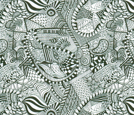 zenpaisley4 fabric by brquilter on Spoonflower - custom fabric