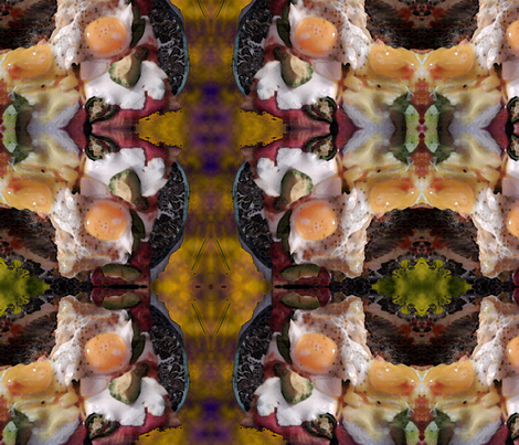 Breakfast Monsters fabric by cmerry on Spoonflower - custom fabric