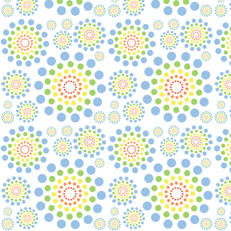 Sun Spots fabric by freshlemonsquilts on Spoonflower - custom fabric
