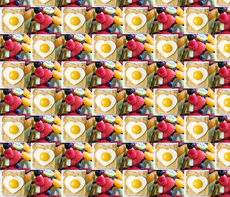 Yummy Happy Morning fabric by karaquen on Spoonflower - custom fabric