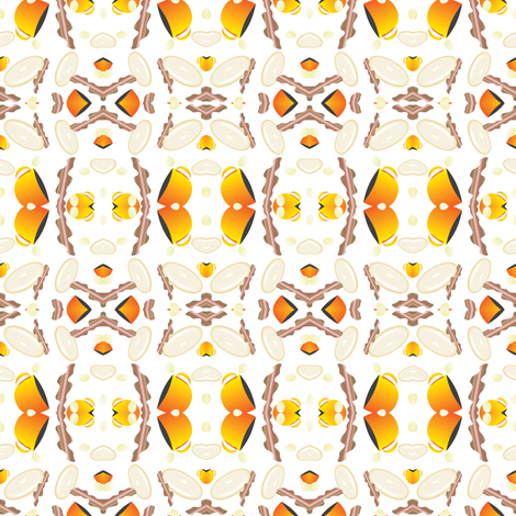 Tribal Breakfast fabric by may_flynn on Spoonflower - custom fabric