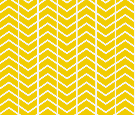 chevron stripe in gold fabric by ninaribena on Spoonflower - custom fabric