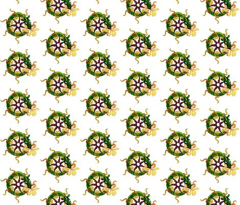©2011 dragon fabric by glimmericks on Spoonflower - custom fabric