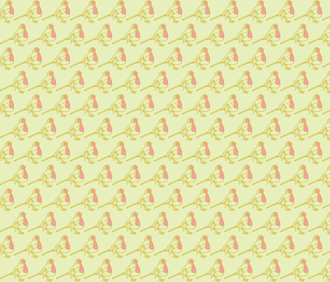 Robin fabric by littlebeardog on Spoonflower - custom fabric