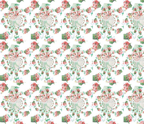 Leprechaun dreaming fabric by beamuddy on Spoonflower - custom fabric