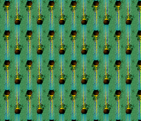 ©2011 leprechaun fabric by glimmericks on Spoonflower - custom fabric