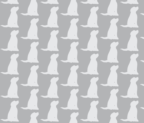 Dog  fabric by littlebeardog on Spoonflower - custom fabric