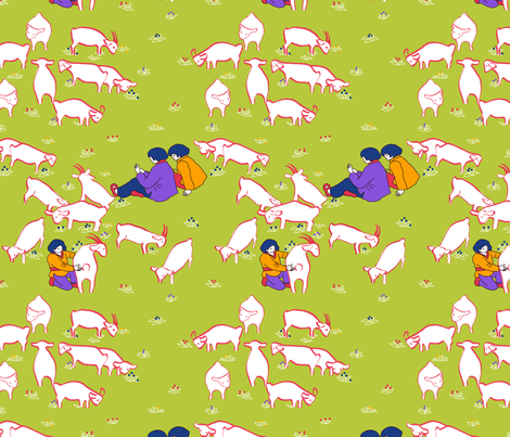 conter_les_moutons_s fabric by nadja_petremand on Spoonflower - custom fabric
