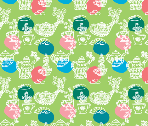 a_table_vert_L fabric by nadja_petremand on Spoonflower - custom fabric