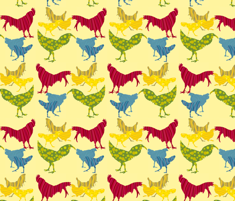 Kauai Breakfast fabric by coloroncloth on Spoonflower - custom fabric