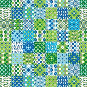 Oh, Boy! patchwork