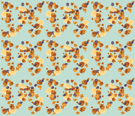 Cereal Pattern fabric by whatsit on Spoonflower - custom fabric