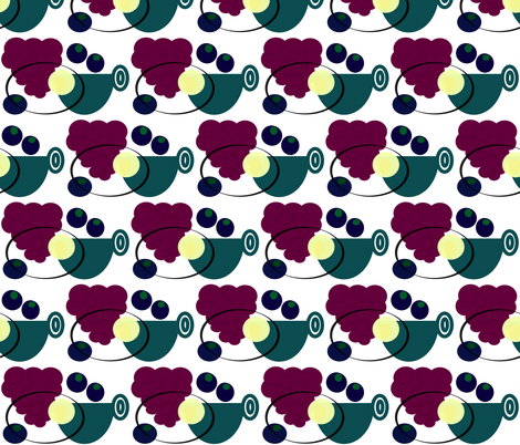 breakfast2 fabric by kdmaher on Spoonflower - custom fabric