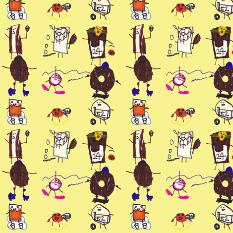 Breakfast Champions fabric by eislinn on Spoonflower - custom fabric