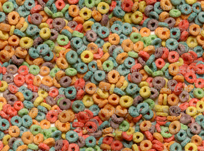 An abundance of loopy fruity goodness