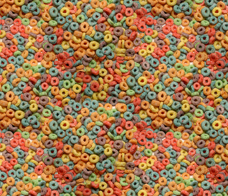 An abundance of loopy fruity goodness  fabric by victorialasher on Spoonflower - custom fabric