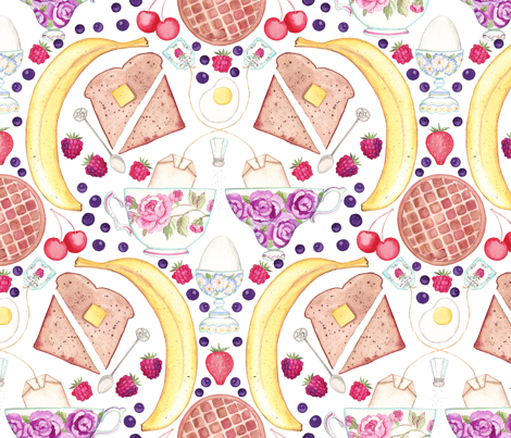 berry_breakfast fabric by madeleine_marx on Spoonflower - custom fabric