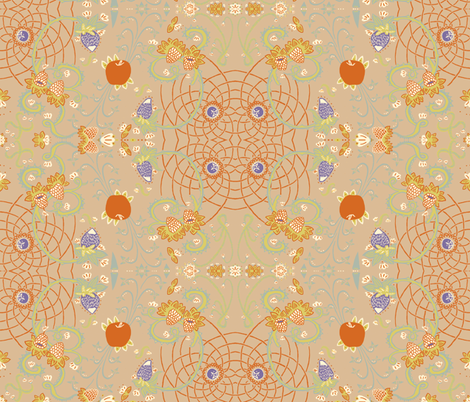 fruit_fabric fabric by emuattacks on Spoonflower - custom fabric