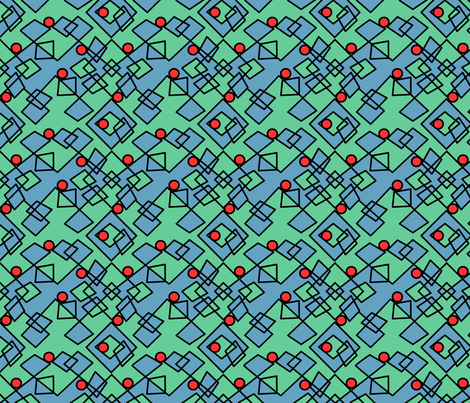 ©2011 Argy Argyle fabric by glimmericks on Spoonflower - custom fabric
