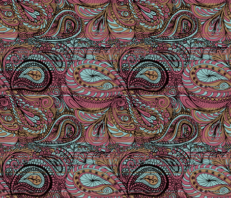 paisley3 fabric by wiccked on Spoonflower - custom fabric