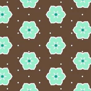 Dark Chocolate Floral - Peppermint
