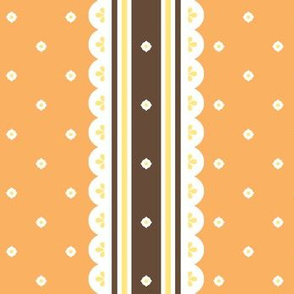 Chocolate Ribbon - Orange
