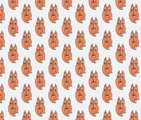 Small Feet's dog fabric by fricdementol on Spoonflower - custom fabric