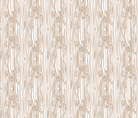 Wonky Wood - Brown fabric by jesseesuem on Spoonflower - custom fabric
