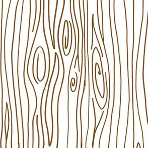 Wonky Wood - Brown