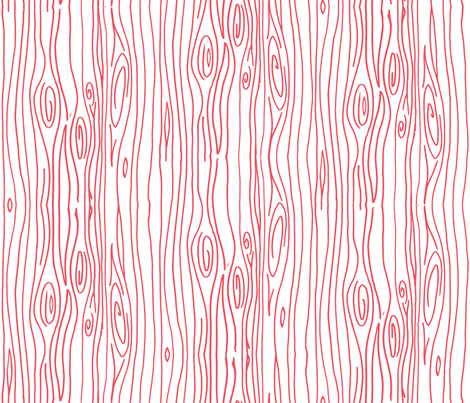 Wonky Wood - Pink fabric by jesseesuem on Spoonflower - custom fabric