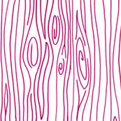 Wonky Wood - Pink
